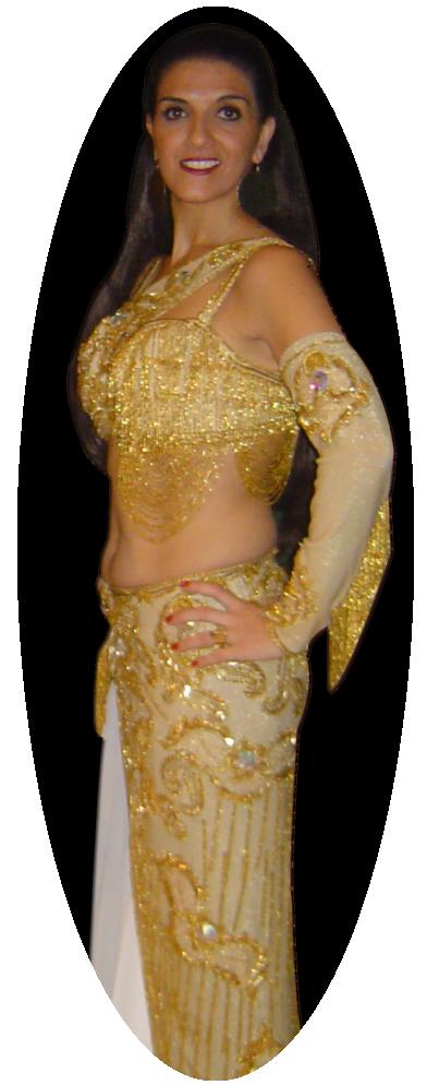 Aline professeur de danse orientale
