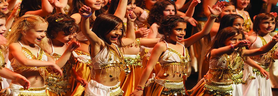 Cours de danse orientale enfants 4